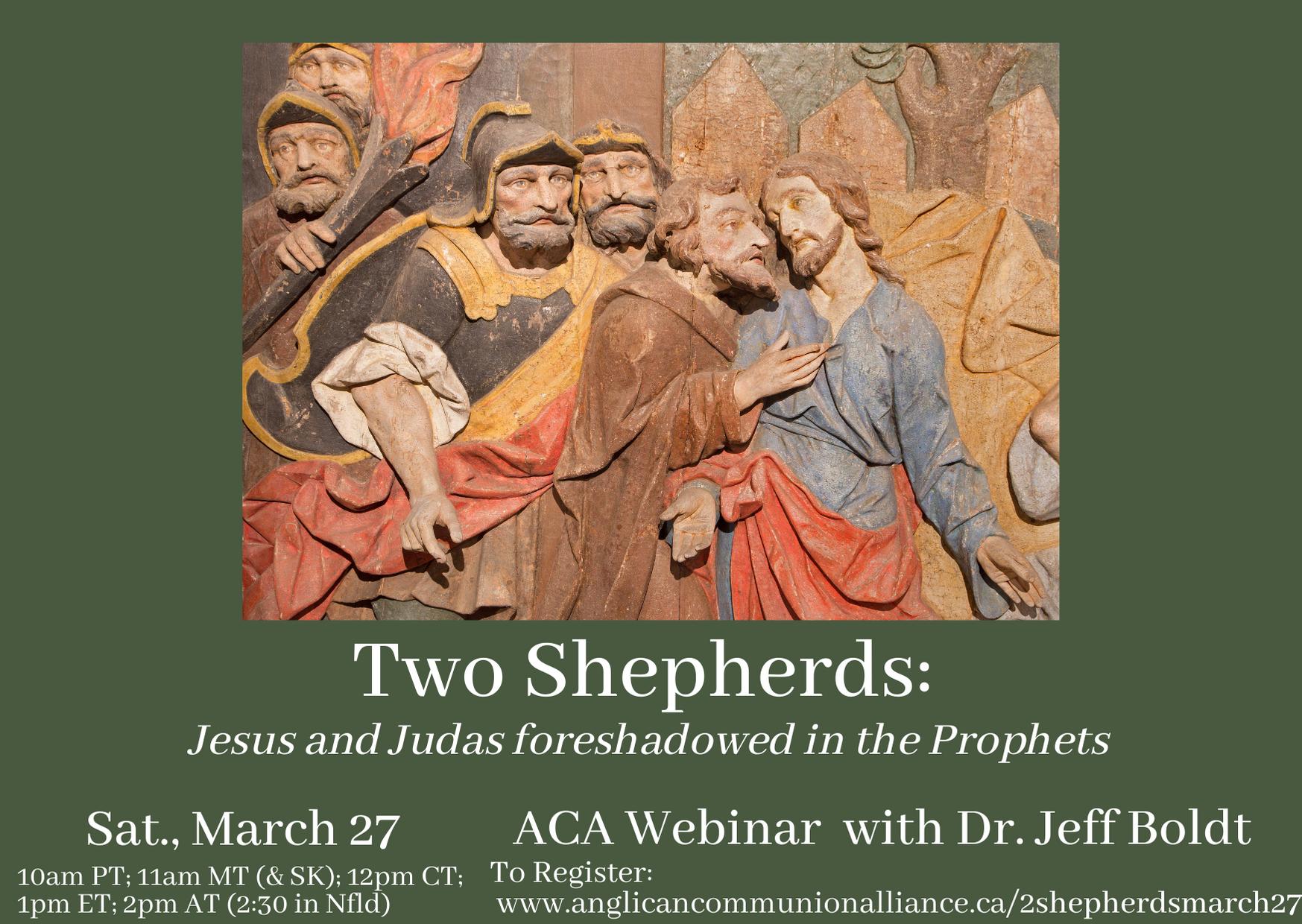 """""""Two Shepherds"""" Webinar"""